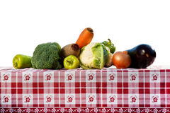 Vegetables. Tasty and full of vitamins Stock Photos