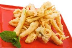 Vegetables in tempura Stock Photo