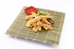 Vegetables in tempura Stock Image