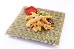Vegetables in tempura Stock Image