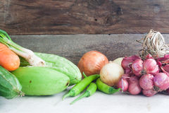Vegetables in Thai cuisine Royalty Free Stock Photography