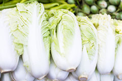 Vegetables in thai market Royalty Free Stock Image