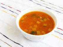 Vegetables tomato soup Royalty Free Stock Photos