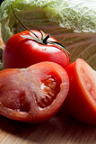 Vegetables and tomatoes Stock Image