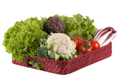 Vegetables on a tray Royalty Free Stock Photo