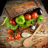 Vegetables, treasure of earth Royalty Free Stock Images