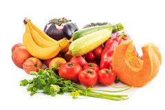 Vegetables. Various vegetables on white background Stock Image