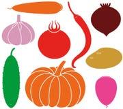 Vegetables. Vector illustration (EPS 10 stock illustration