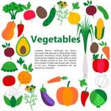 Vegetables web banner Stock Photos