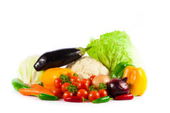 Vegetables  on a white Royalty Free Stock Photography