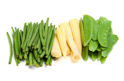 Vegetables on a white background Royalty Free Stock Photo