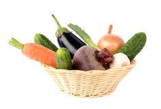 Vegetables. On a white background Stock Photo