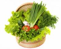 Vegetables on the white background. Vibrant vegetables on the white background Stock Photo