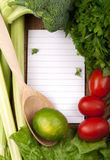 Vegetables on wooden background Royalty Free Stock Image