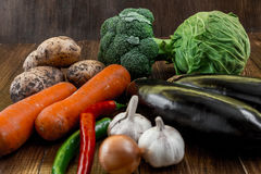 Vegetables royalty free stock photos