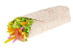 Vegetables wrap Stock Photo