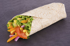 Vegetables wrap Royalty Free Stock Images