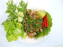 vegetableson Weißhintergrund Lizenzfreie Stockfotos
