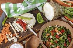Vegetablesvegetables de Chohhed Imagem de Stock Royalty Free