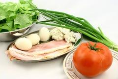 Vegetagles e carne Immagini Stock Libere da Diritti