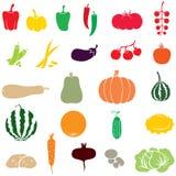 Vegetais ilustração royalty free