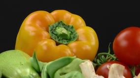 vegetais video estoque