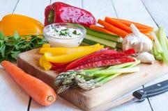 Vegetais apanhados Fotografia de Stock