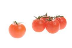 Vegetais, cereja do tomate Fotos de Stock