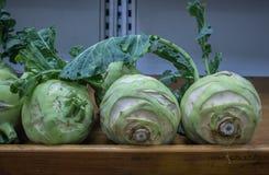 Vegetais cipriotas no mercado super imagens de stock