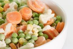 Vegetais congelados Imagem de Stock Royalty Free