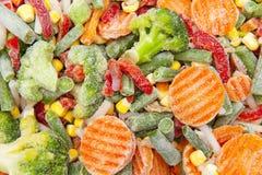 Vegetais congelados Imagens de Stock