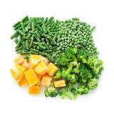 Vegetais congelados Fotografia de Stock Royalty Free