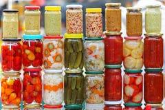 Vegetais conservados Fotos de Stock