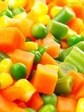 Vegetais cortados Fotografia de Stock Royalty Free