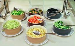 Vegetais cortados Imagens de Stock Royalty Free