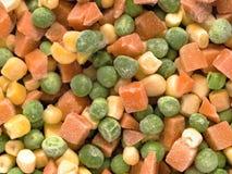Vegetais cortados congelados foto de stock royalty free