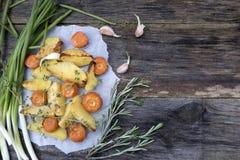Vegetais cozidos Foto de Stock