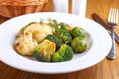 Vegetais cozidos Fotografia de Stock Royalty Free