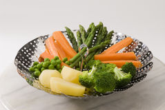 Vegetais cozinhados. Foto de Stock Royalty Free