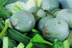 Vegetais cozinhados misturados Imagens de Stock