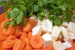 Vegetais crus Fotografia de Stock Royalty Free