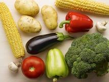 Vegetais crus imagens de stock