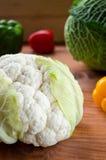 Vegetais crus coloridos frescos orgânicos Fotografia de Stock Royalty Free