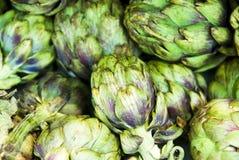 Vegetais da alcachofra Fotos de Stock Royalty Free