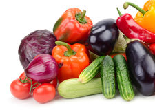 Vegetais da coleção Imagem de Stock Royalty Free
