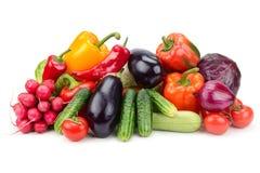 Vegetais da coleção Fotografia de Stock Royalty Free