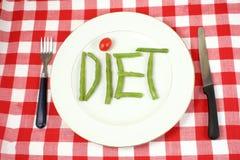 Vegetais da dieta Fotografia de Stock Royalty Free