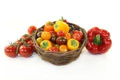 Vegetais da grade Imagens de Stock Royalty Free