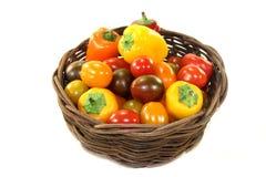 Vegetais da grade Imagem de Stock