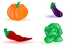 Vegetais da ilustração do vetor ilustração royalty free